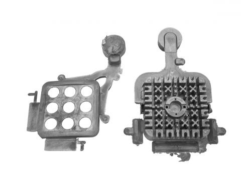 die casting radiator front mask LED lamp.jpg